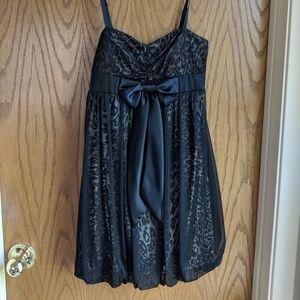 City Studio leopard print cocktail dress size S